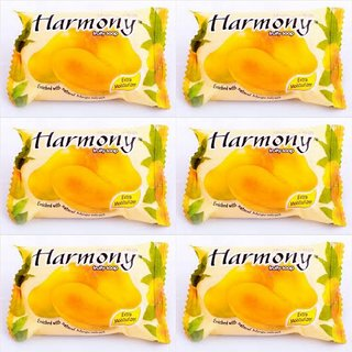 HARMONY MANGO FRUITY SOAP (Pack Of 6 - 75 grams)