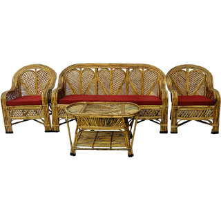 Buy Cane Sofa Set With Table Online Get 27 Off