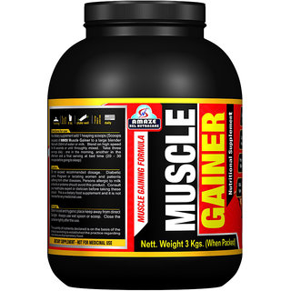 Amaze Muscle Gainer 3 Kgs. (Chocolate Flavour)