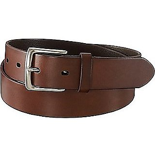 209d44e04 Men Casual Brown Genuine Leather Belt (Synthetic leather Rexine)