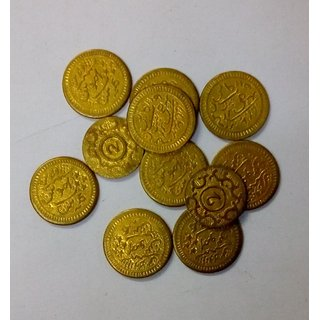 Very Rare Old Brass Coins  Eleven Coins