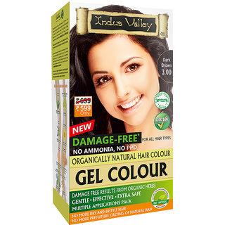 Indus valley Halal Natural Hair Color- Dark Brown 3.00
