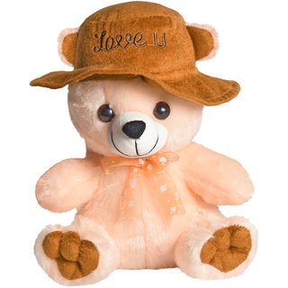 Ultra Cap Teddy Soft Toy 9 Inches - Butter