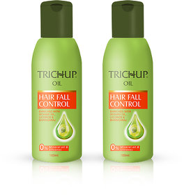 Trichup Hair Fall Control Herbal Hair Oil (100 ml x 2) (Pack of 2)