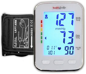 Healthgenie BP Monitor digital Upper arm BPM 04 KBL Automatic