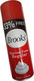 Brooks Shaving Foam in 400 ml Jumbo Pack..Best Quality..