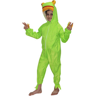 KFD-Frog fancy dress for kids,Water Animal Costume for Annual function/Theme Party/Competition/Stage Shows/Birthday Party Dress