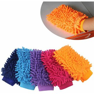 Microfiber Cleaning Dusting Glove For Home Office Kitchen Car Etc.by traders5253