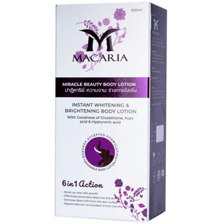 Macaria Instant Whitening Body Lotion