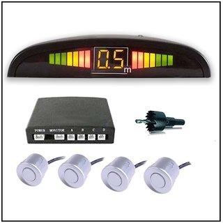 Phonoarena Tata Tiago Car Reverse Silver Parking Sensor