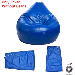 Styleco XL Bean Bag without Beans ( Blue)