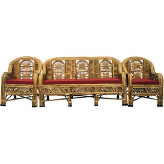 Buy Cane Sofa Set With Table Online Get 12 Off
