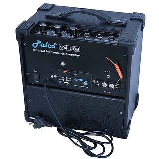 PALCO 104 Guitar Amplifier with USB, FM