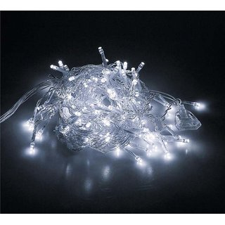 HIGH QUALITY White LED String 30 feet Fairy Christmas Diwali Lights Diwali Decoration