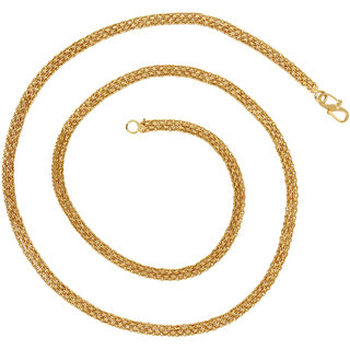 Goldnera Gold Plated Wedding/Festive Wear 24 Inches Long Chain For Men/Boys