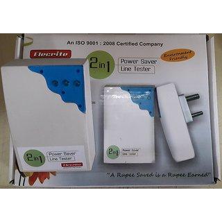 2-in-1 Power Saver cum Line Tester Elecrite Power Saver