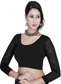 k g fashions Readymade Black full sleeve blouse