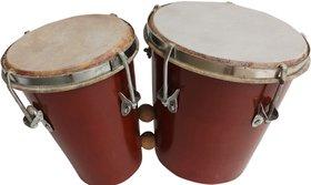 Musicals Instruments Bongo Silver Paint