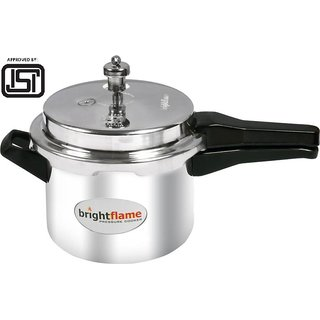 Brightflame  ISI marked 5 Ltr Popular Pressure Cooker