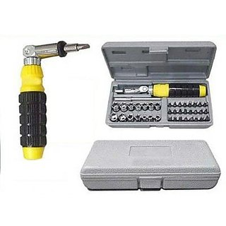 41 Pcs Tool Kit  Screwdriver Set