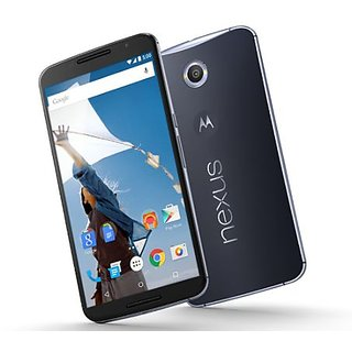 Nexus 6 32 blue color 9 month manufacturer open box used phone in scratch less conditions