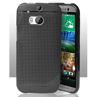 HTC One M8 Dotted Soft Back Cover