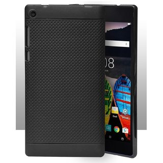 detailed look ace29 4b194 Lenovo Tab 3 730X Dotted Soft Back Cover