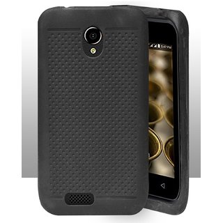 Reliance Jio Lyf Flame 6 Dotted Soft Back Cover