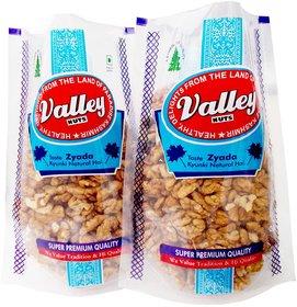 Valleynuts Premium Kashmiri Brown Walnut Kernells 400 Grams