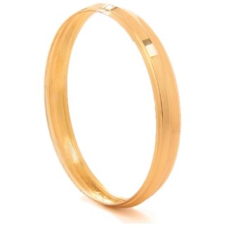 Goldnera Sikh Gold Bangle Kada Real Looking Heavy Design For Men/Boys