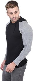 Bi Fashion Hood Full Wrengler Black Men's t-shirt
