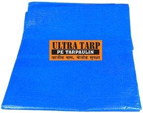 200 GSM Blue (12 ft X 15 ft) UltraTarp PE Tarpaulin Pure Virgin UV Treated(Tarp, Tirpal,Tarpoline, Tent, Talpatri, Rain)