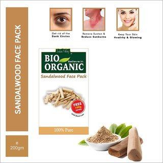 Indus Valley BIO Believe-in-Organic Sandalwood Face Pack Powder