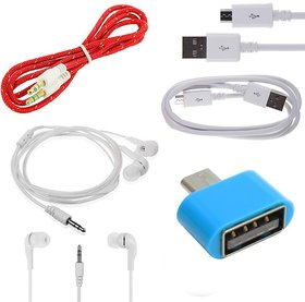 ESHOPGLEE AUX, OTG and USB Cable With Free Headphone