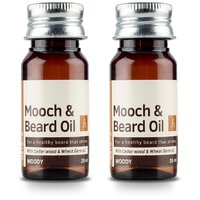 Ustraa Mooch  Beard Oil (Set of 2)  (70 ml)