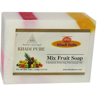 Khadi Pure Herbal Mix Fruit Soap - 125g