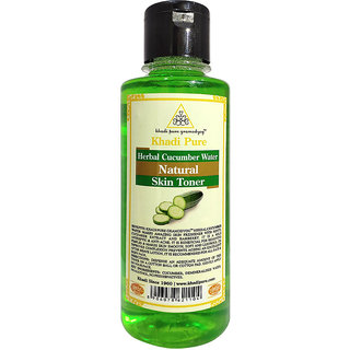 Khadi Pure Herbal Cucumber Water - 210ml