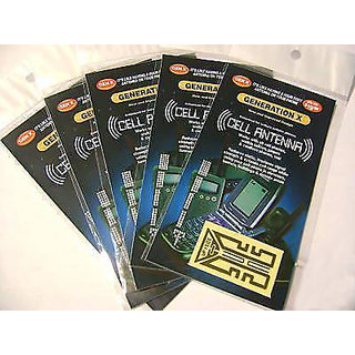 Generation X Plus Cell phone antenna booster works with all phones (5 pieces)