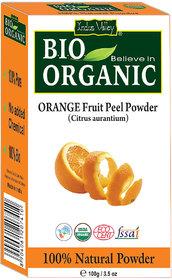 Indus Valley Bio Organic  Natural Orange Peel Powder 100 G
