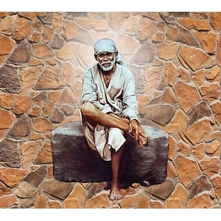 Style UR Home - Sai Baba Wall Poster - 24 x 18