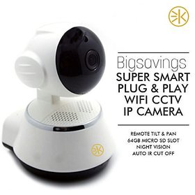 3Keys HD Wireless IP Home Security Camera with WiFi Night Vision  Remote Monitoring from Android  iOS compatible smart