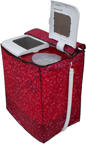 Dream Care Dark Pink Waterproof & Dustproof washing Machine Cover For  Semi Automatic Top Load 8kg - All Brand