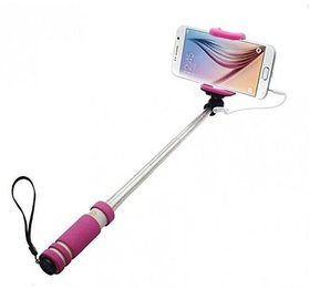 KSJ Aux Wire Selfie Stick For Android - IOS