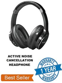 Merlin Bluetooth Wireless Headphone with Extreme Bass (Virtuoso Active Noise Cancellation)