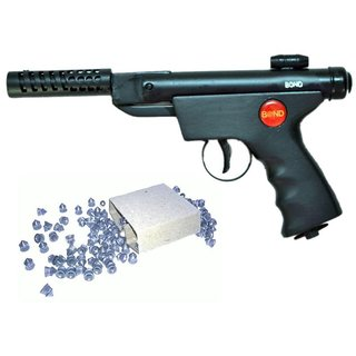 Prijam Air Gun  Btm For Perfect Target Practice With 300 Pellets  And 1 Cover