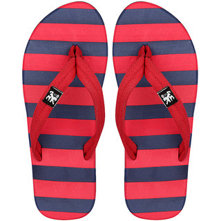 STYLE HEIGHT Men's Red Slippers
