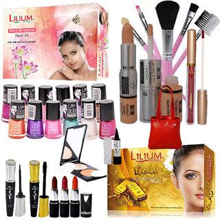 Abeni Combo Make Up Set Pack Of 29Pcs
