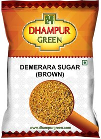 Dhampur Green Brown Sugar (Demerara Sugar) 1 Kg