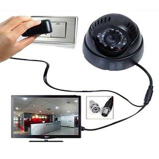 Dome CCTV 24 IR Night Vision Camera TV-Out DVR