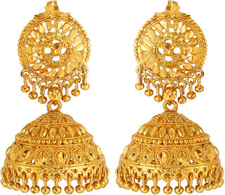 Gold Plated Traditional Jhumki By Goldnera
